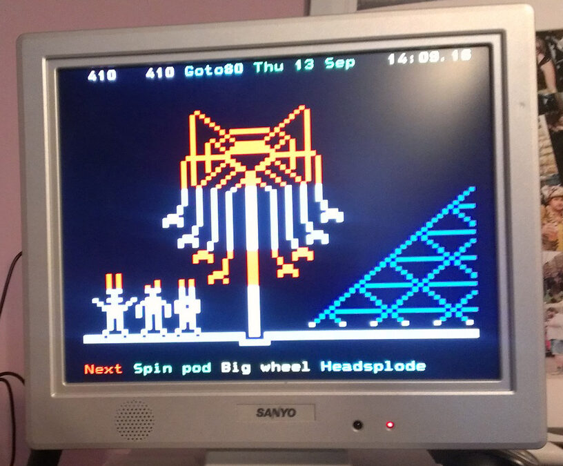 My Own Teletext Channel!
