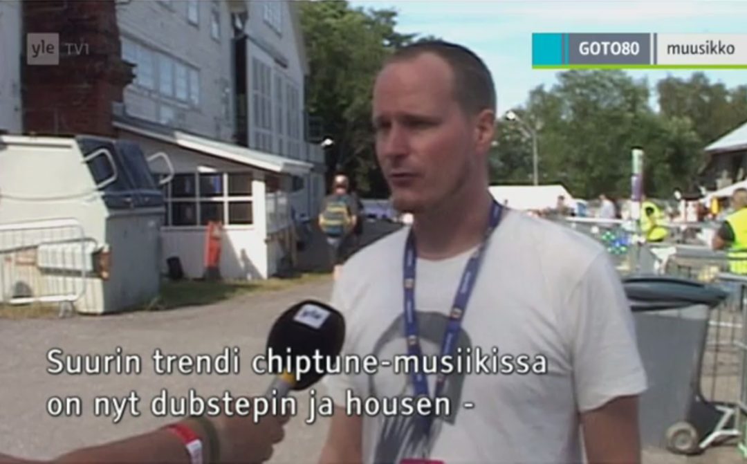 Dissing Dubstepin & Housen on Finnish TV