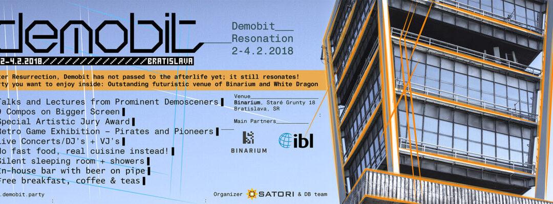 Demobit, Bratislava, February 2