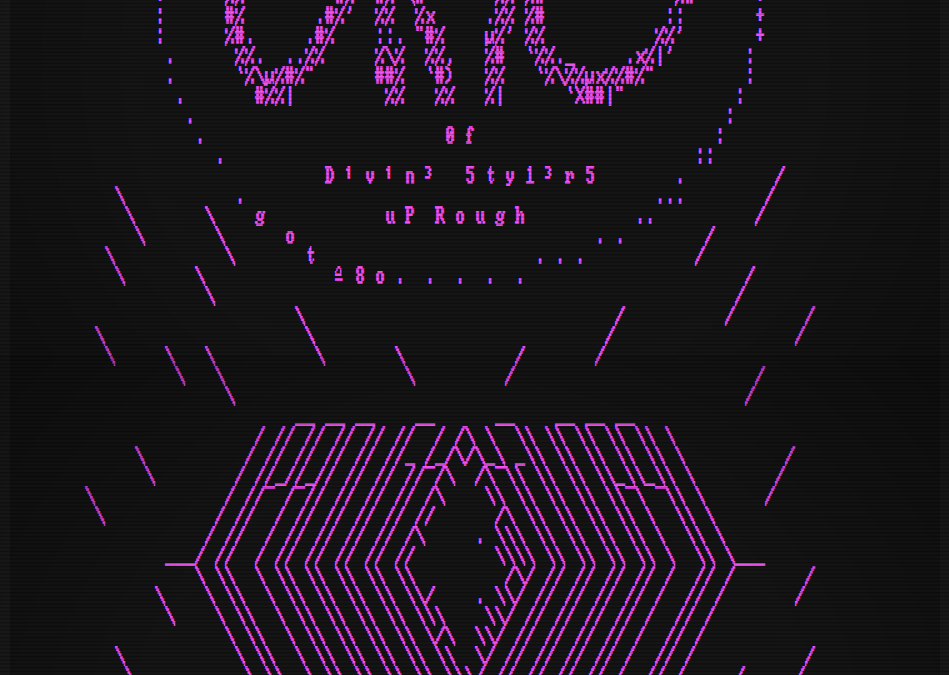 Dino's ASCII GRAFFITI II
